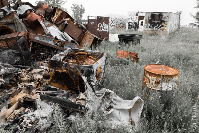 Dinner In The Junk Yard July 1 2015 Leif Norman